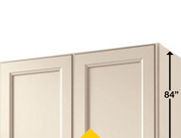 How To Determine Ceiling Height For Kitchen Cabinets